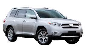 E B Tolley - Toyota Kluger/Highlander 7 Seat Wagon 2010 – 2014
