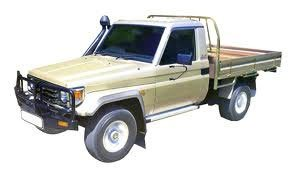 E B Tolley - Toyota Landcruiser Single Cab 70 Series 1994 – on